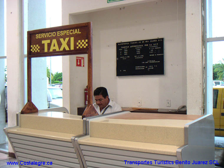 Manzanillo Airport TaxiStand